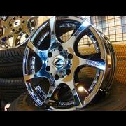 タイヤ在庫限り特価!EAC17インチAW DTM3 高級タイヤセット 車検完全対応品